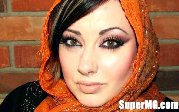 Фото: Арабська макіяж очей: звабливий погляд принцеси