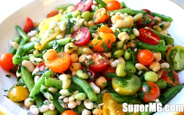 Фото: Квасоляний салат із зеленню: освежаюче і ситно