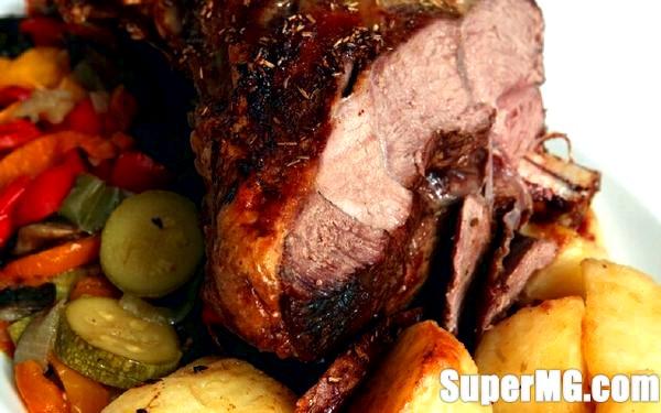 Фото: Готуємо баранячу ногу в духовці: чудове м'ясо