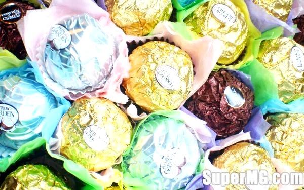 Фото: Виготовлення букетів з цукерок для початківців: солодка краса