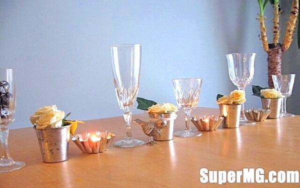 Фото: Як можна прикрасити келихи: просте витонченість