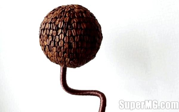 Фото: Як зробити дерево з кавових зерен: справжній культ кави