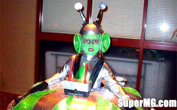 Фото: Як зробити костюм інопланетянина своїми руками: зоряний маскарад