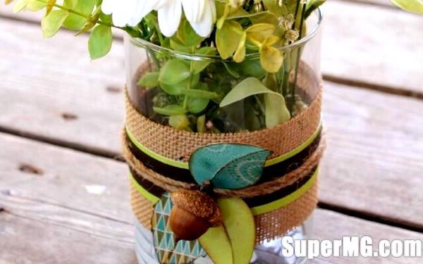 Фото: Як прикрасити вазу своїми руками: витонченість і краса