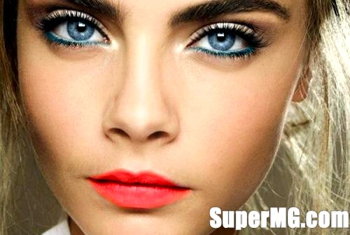 Фото: Макіяж для сіро-блакитних очей: поради, рекомендації на кожен день
