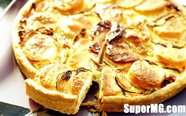 Фото: Відкритий пиріг Кіш: випічка Франції