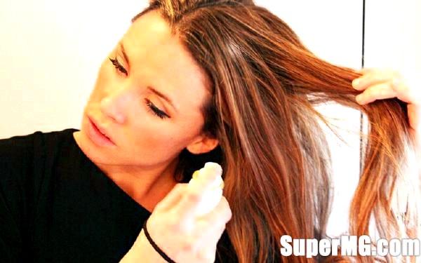 Фото: Застосування сухих шампунів: практичне і швидке миття голови