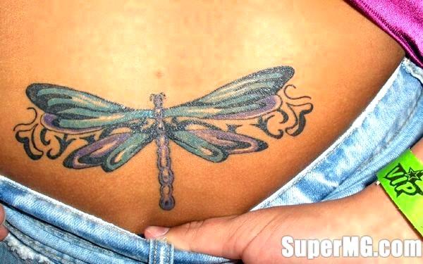 Фото: Татуювання для дівчат на попереку: сексуальні візерунки