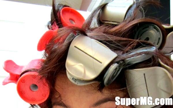 Фото: Термобигуди: як користуватися - об'ємна зачіска за кілька хвилин