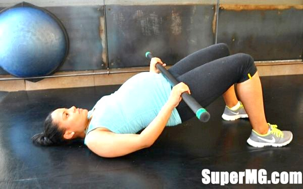 Фото: тренування з бодибар: простота вправ